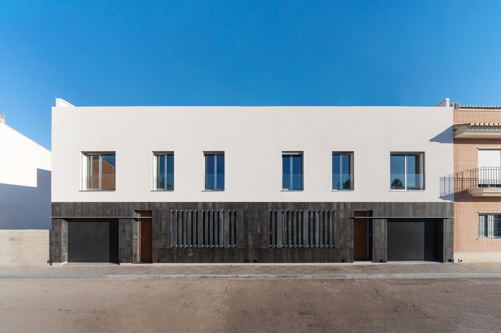 Exteriores edificio Passivhaus plus rafelbunyol