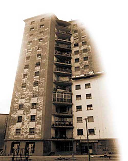 Edificio SATE - Barrio San Roque, Barcelona